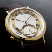 George Daniels Millennium wristwatch, which sold for £519,000 and a world auction record for any British-made watch. Courtesy of Bonhams Images Ltd 2021