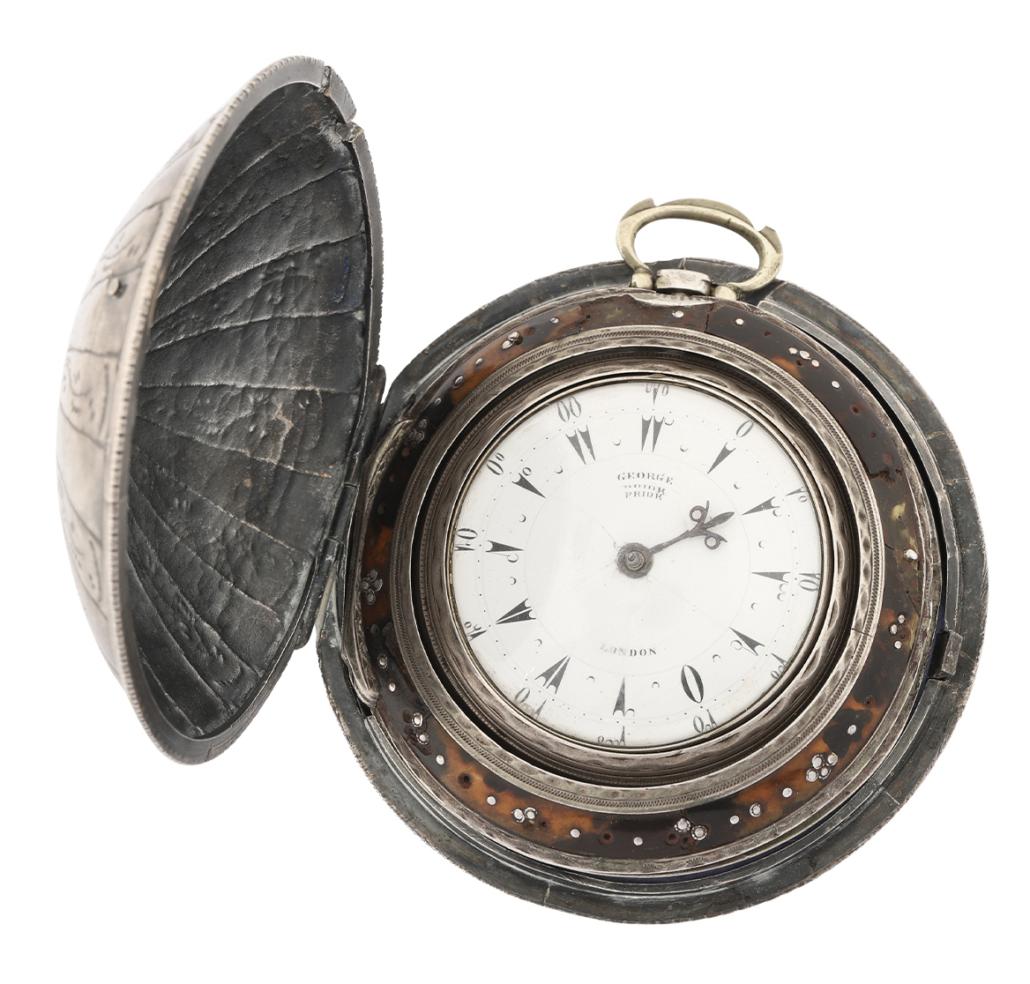 A George Prior verge fusee watch, estimated at $2,500-$3,000