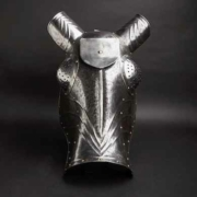 German horse's muzzle, or chamfron, in the style of circa 1480, estimated at €3,500-€7,000