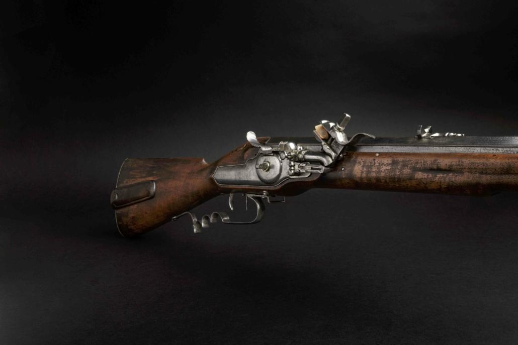 """""""Mullerbuchse"""" wheellock rifle by Georg von der Fecht, estimated at €2,800-€5,600"""