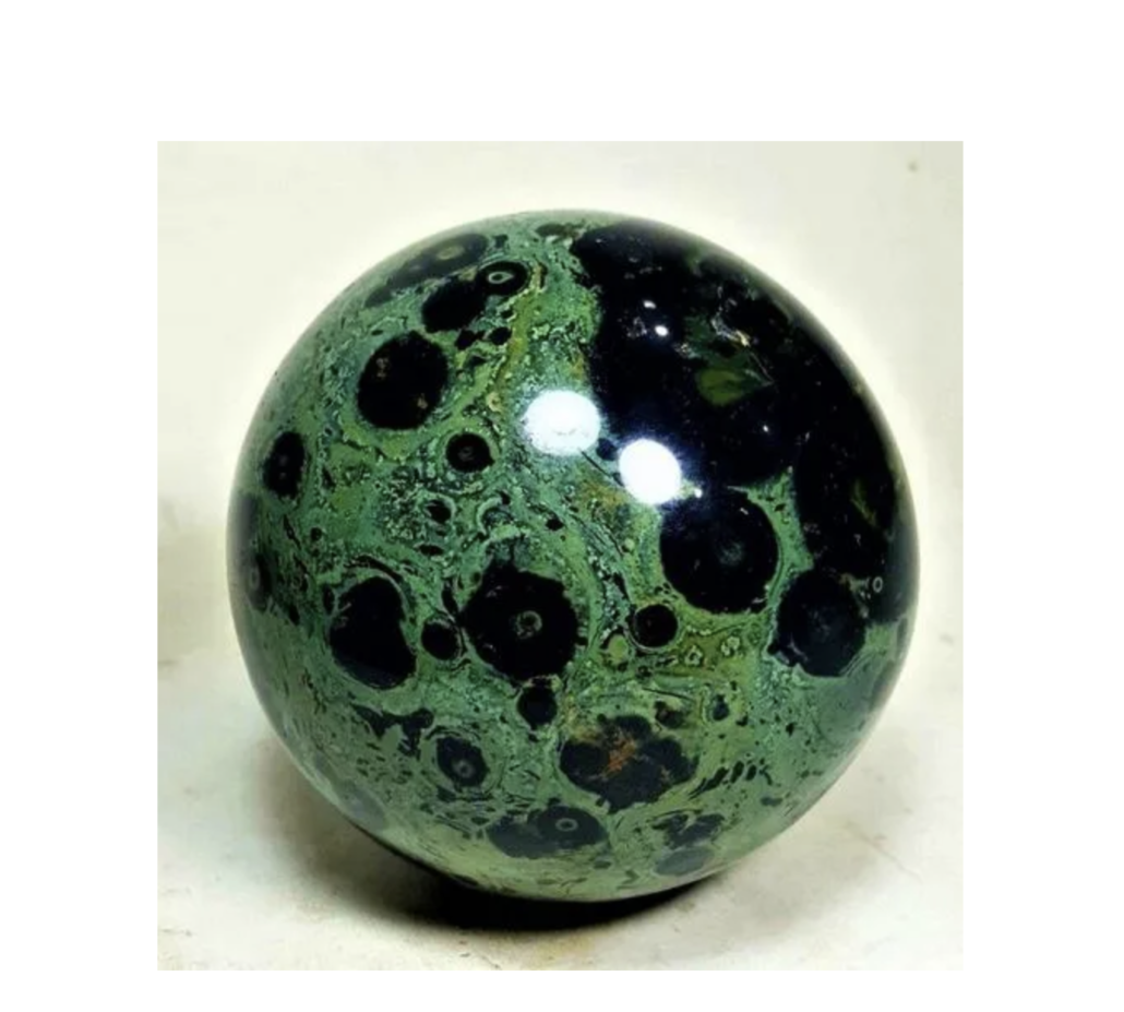 Kambaba 'Healing Sphere,' estimated at $300-$350
