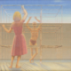 George Tooker, 'Untitled (Young Man Facing a Woman),' estimated at $100,000-$150,000