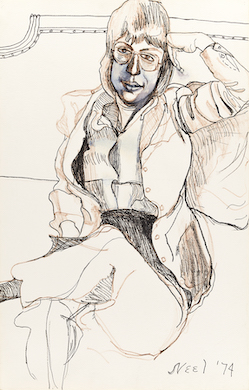 May & June Swann sales set records for Alice Neel, Hannes Beckmann