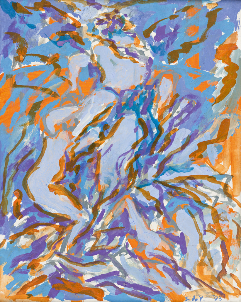Elaine de Kooning, 'Bacchus,' which sold for $57,500