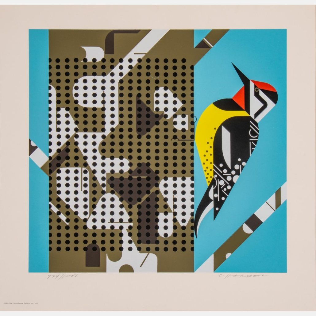 Charles Harper, 'Yellow Bellied Sapsucker,' estimated at $200-$400