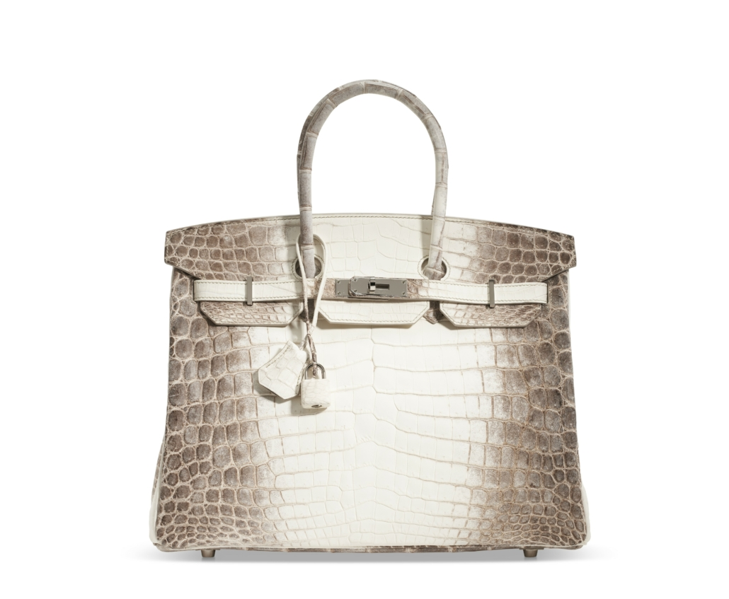 Himalaya Birkin 35, which sold for $137,500. Courtesy of Christie's Images LTD 2021
