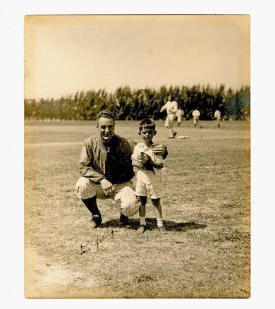 Rare 1933 Lou Gehrig photo heads University Archives June 30 sale