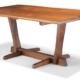 Mira Nakashima Conoid dining table from 2000, estimated at $10,000-15,000