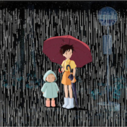Cel setup with key master background from Studio Ghibli's 'My Neighbor Totoro,' which sold for $84,000