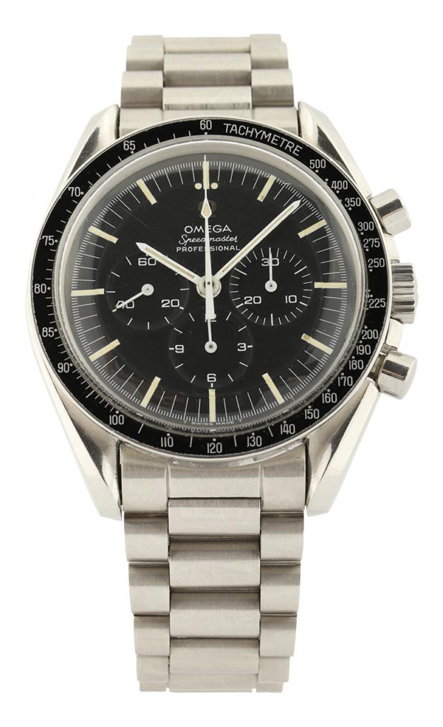 Omega Speedmaster Pre-Moon watch, estimated at $14,000-$16,000