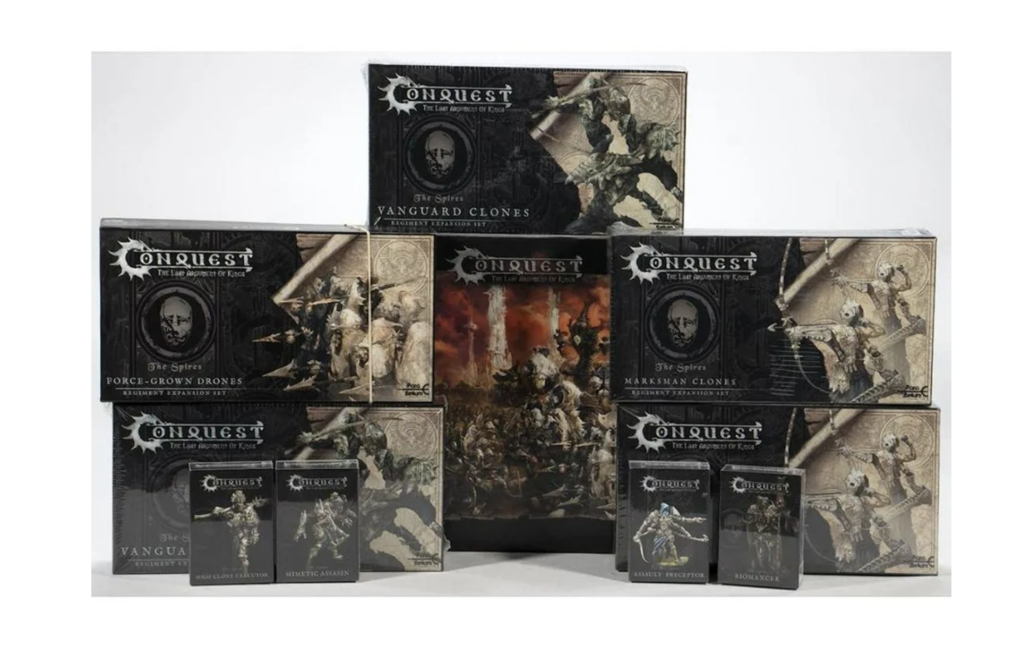 Group of Para Bellum Conquest games, collectively estimated at $100-$200.