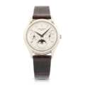 Patek Philippe Reference 3940 perpetual calendar men's watch, which sold for CA$50,150