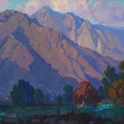 Mountain landscape by Fitch Burt Fulton, which sold for $5,312