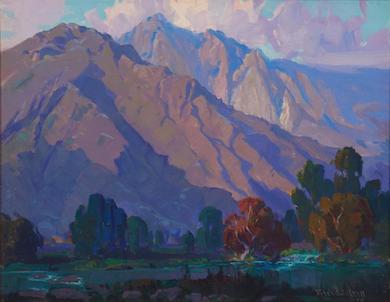 American paintings, decorative glass saw success at Moran, May 18-19
