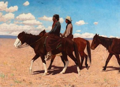Native American & Western art found favor at May 25 Moran auction