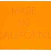Ed Ruscha, 'Made in California,' which sold for $100,000