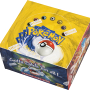Starting June 1, Heritage Auctions will offer packs from a 1999 Pokemon Unlimited Base Set Booster Box, which will be opened live on June 27.