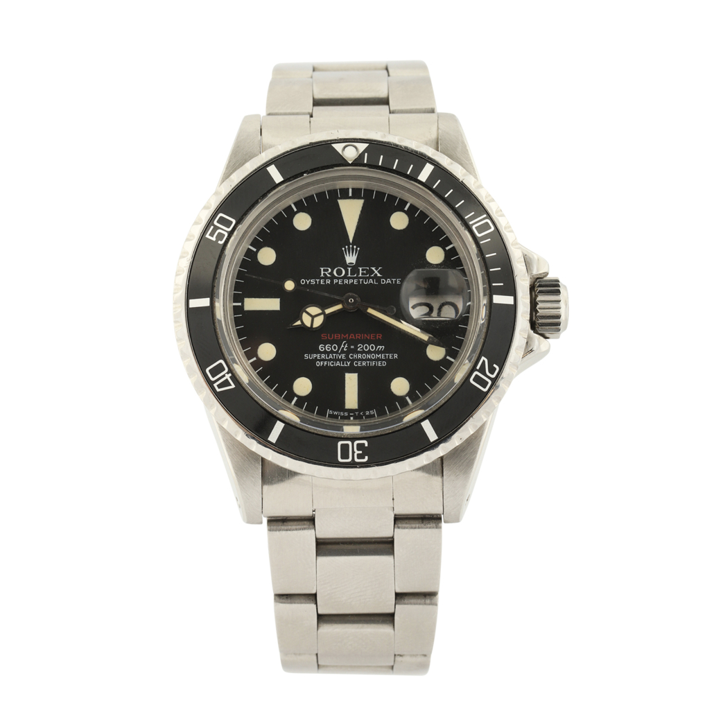 Rolex Reference 1680 red Submariner Date men's watch, which sold for CA$24,780