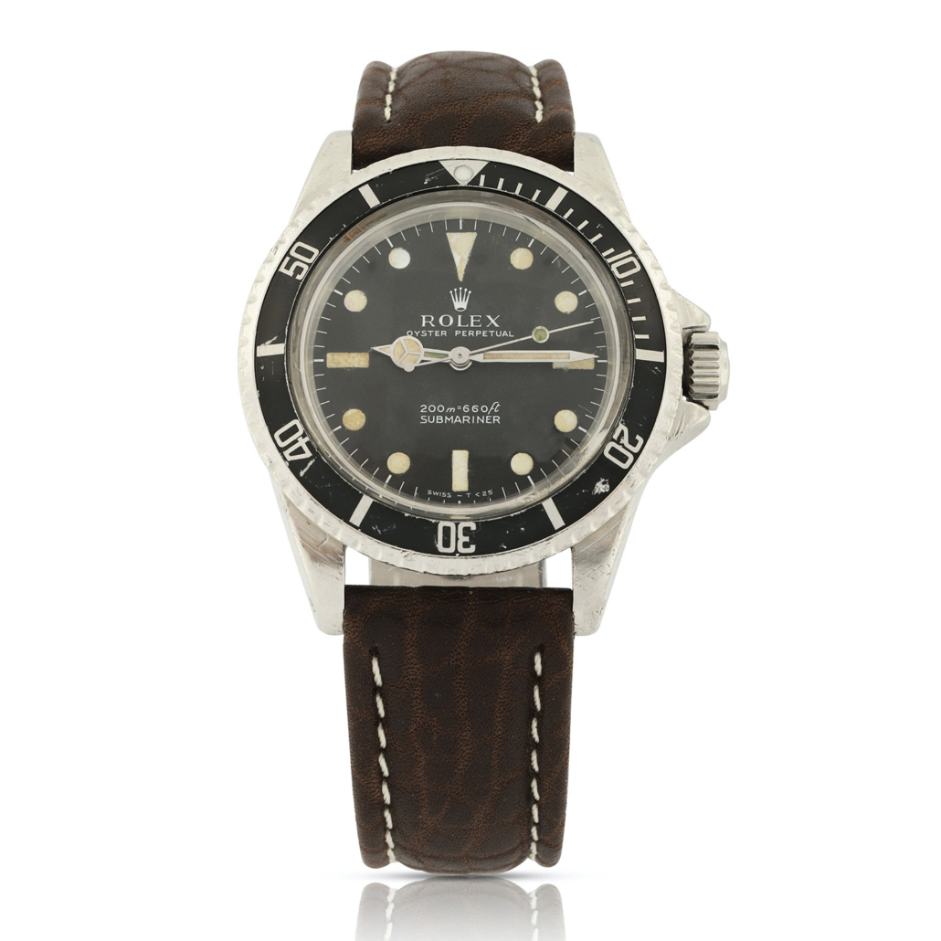 1969 Rolex Reference 5513 Submariner, which sold for CA$16,520