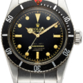 Rolex Submariner Big Crown, Four Liner Dial, Ref. 6538, which sold for $125,000