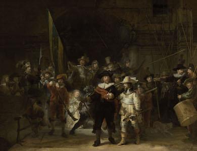 Rijksmuseum restores Rembrandt's 'Night Watch' to original form