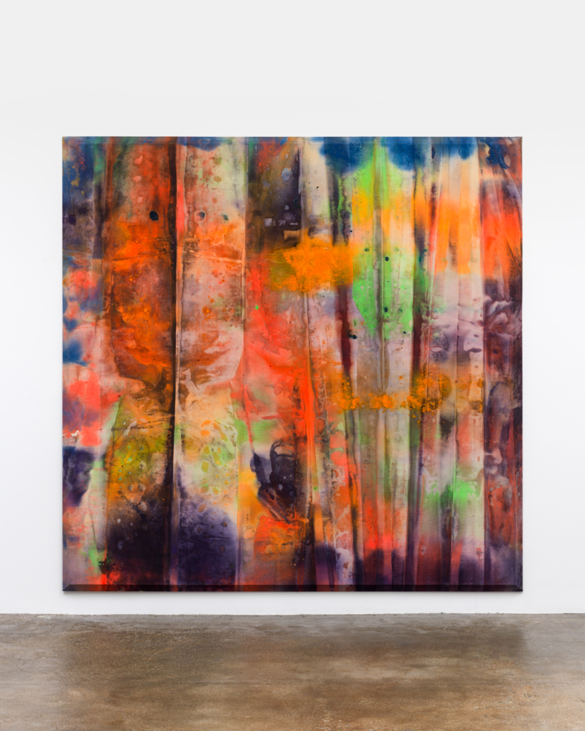 Sam Gilliam, 'Wide Narrow,' 1972, acrylic on canvas, Rose Art Museum, Brandeis University. Rose Art Museum Acquisition Fund, Gift of Monroe and Edith Geller. Charles Mayer Photography.