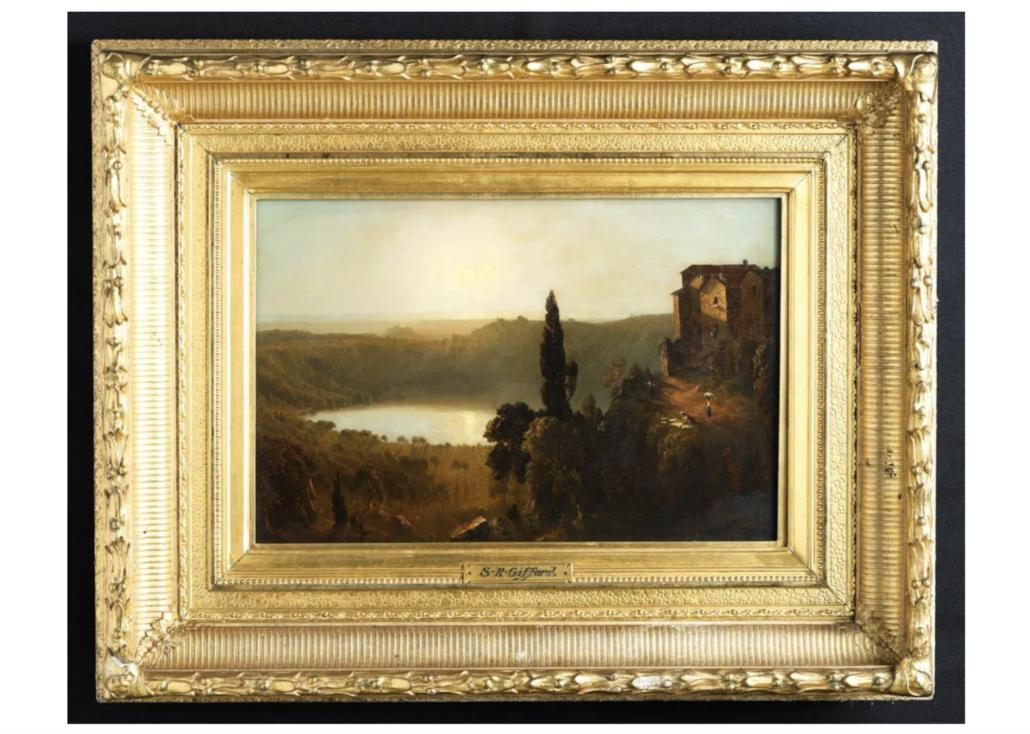 Sanford R. Gifford, 'Lago di Nemi (Nemi Lake),' estimated at $75,000-$125,000