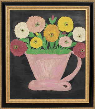 Clementine Hunter painting enlivens June 20 Auctions at Showplace sale