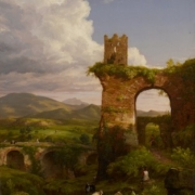 Thomas Cole, 'The Arch of Nero, 1846. Image courtesy of the Thomas H. and Diane DeMell Jacobsen PhD Foundation.