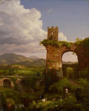 Philadelphia Museum of Art displays Thomas Cole's 'Arch of Nero'