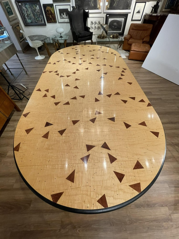 Wendell Castle dining table, which sold for $70,110