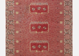 This circa 1947 Krabban hand-knitted wool carpet from Barbro Nilsson certainly qualifies as a statement piece. It brought $24,000 plus the buyer's premium in June 2021 at Wright.