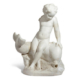 Roman marble Eros riding a dolphin, which sold for $137,500