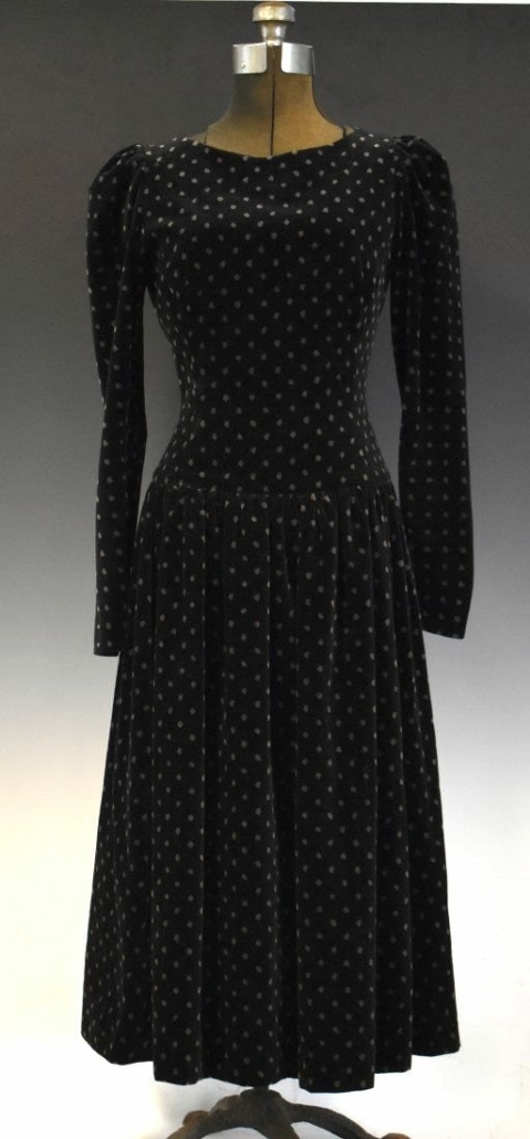 A Princess Diana-owned and worn dress realized $26,000 plus the buyer's premium in November 2020 at Mid-Hudson Auction Galleries.