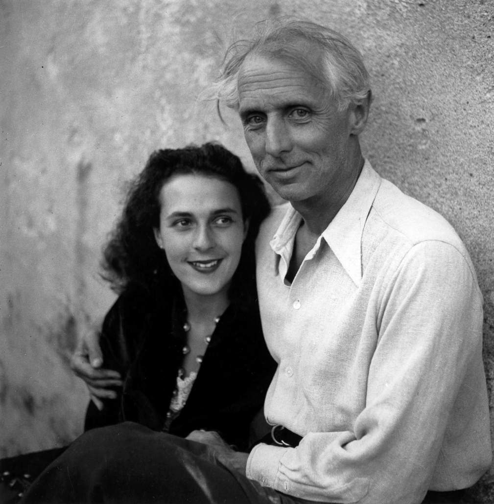 Leonora Carrington and Max Ernst, St. Martin d'Ardeche, France 1939 by Lee Miller (A0201) © Lee Miller Archives England 2020. All Rights Reserved. www.leemiller.co.uk