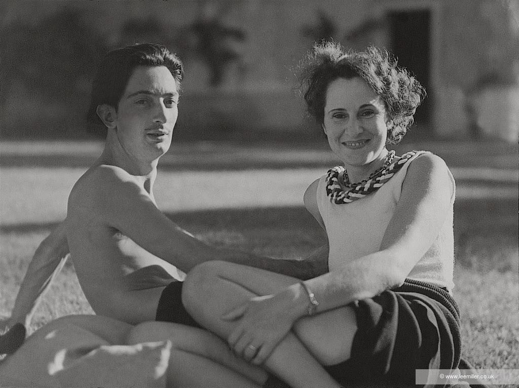 Salvador Dali and Gala, c1930 by Lee Miller (no number) © Lee Miller Archives England 2021. All Rights Reserved. www.leemiller.co.uk