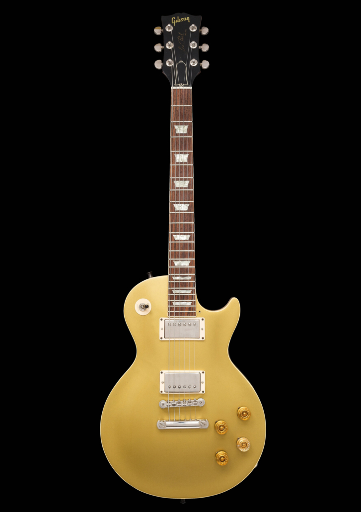 1969 Gibson Les Paul Goldtop Schon played on the album 'Santana III'