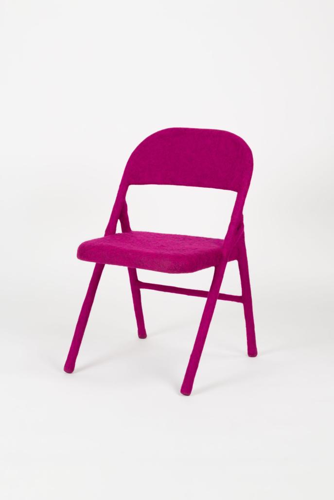 Tanya Aguiniga,'Folding chair,' 2018, Carnegie Museum of Art, Martha Mack Lewis Fund and Helen Johnston Acquisition Fund. ©️ Tanya Aguiniga