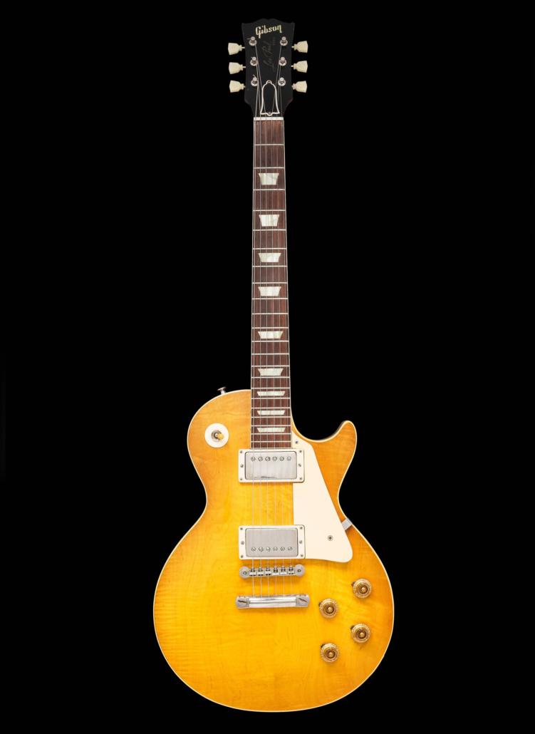 1959 Gibson Les Paul Standard Sunburst solid body electric