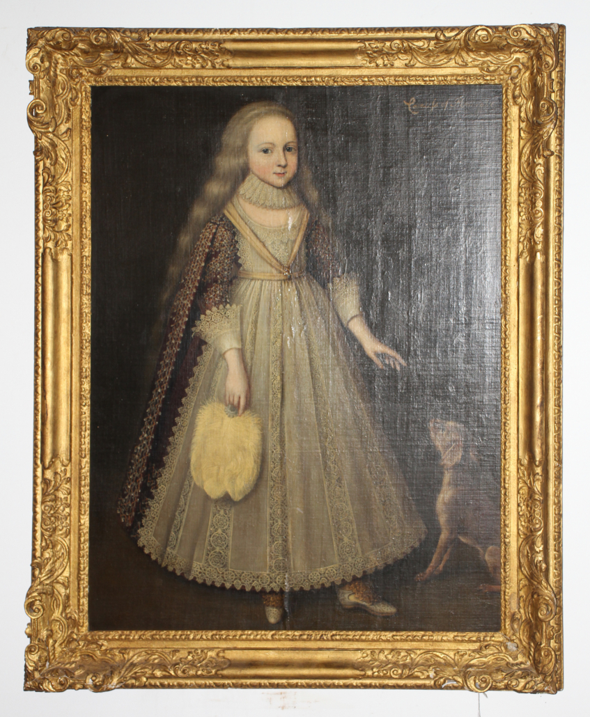 Portrait of the Countess of Pembroke, estimated at $10,000-$15,000
