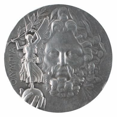 1896 Athens Olympics 1st place medal wins $180K at RR Auction