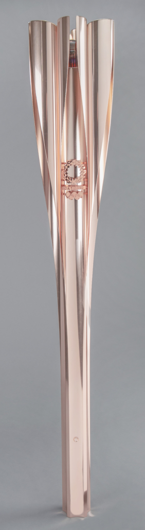 Tokyo 2020 Summer Olympics torch, which sold for $18,529