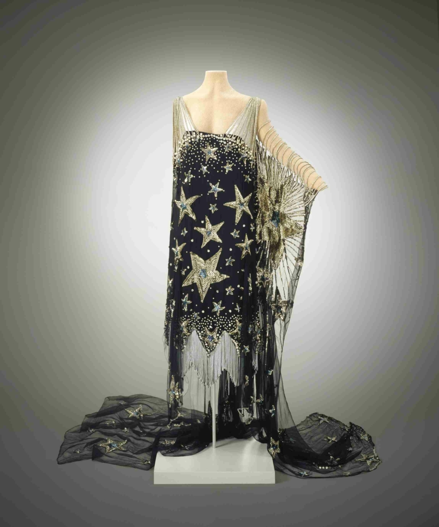 'Starry Night' costume, USA, 1926, silk crepe, rhinestones, sequins. Courtesy of Hillwood Estate, Museum & Gardens. Photographed by Edward Owen.
