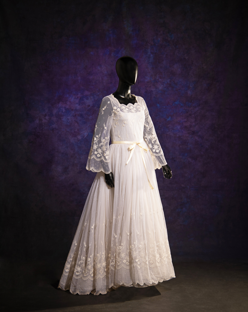 Christian Dior haute couture wedding dress, Fall/Winter 1979
