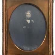 Quarter-plate daguerreotype of General Tom Thumb, which sold for $18,000