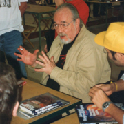 Gary Gygax, the late co-creator of the Dungeons & Dragons game, photographed at ModCon in September 1999. The former headquarters of the company that produced the iconic game became the Dungeon Hobby Shop Museum in July. Photo credit: Moroboshi. Courtesy of Wikimedia Commons, under the Creative Commons Attribution-Share Alike 3.0 Unported license.