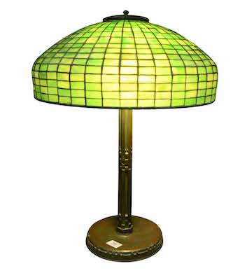 Tiffany lamps shed light on bright second quarter at Nadeau's