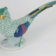 Herend hand-painted porcelain pheasant, one of two individually estimated at $75-$5,000