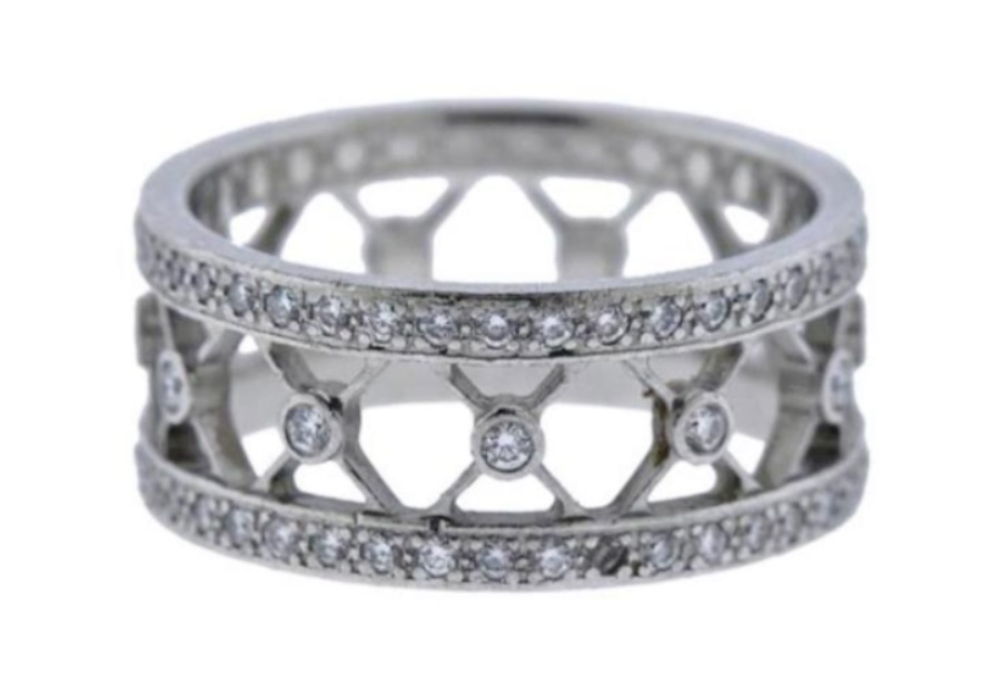 Tiffany & Co voile eternity ring, estimated at $200-$5,000