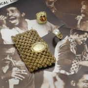 Selection of jewelry that once belonged to the famed entertainer Sammy Davis Jr., which will be offered in a Bonhams Los Angeles July 21 sale. Image courtesy of Bonhams